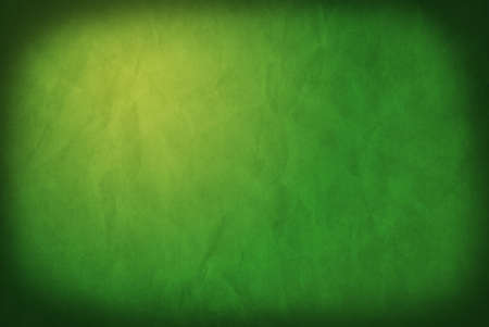 Abstract grunge background of green paper