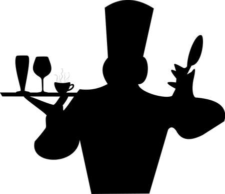 illustration of a cooker with a tray Vector