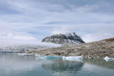 jostedal: iceberg in the Jostedalsbreen glacier Stock Photo