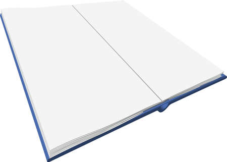 mag: illustration d'un livre ouvert Illustration