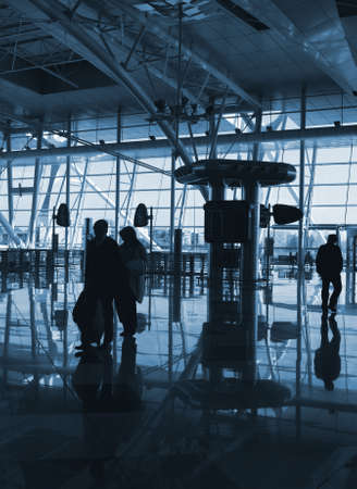 people inside of the airport Stock Photo - 4772082