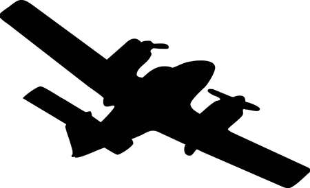 illustration of an airplane flying Stock Vector - 4904897