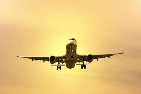 airplane preparing the landing Stock Photo - 5816656
