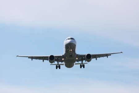 airplane preparing the landing Stock Photo - 6006289