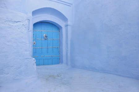 door way: detail of a morocco door Stock Photo