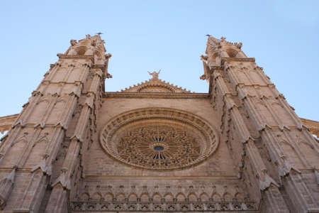 Facade of Cathedral, Palma de Majorca