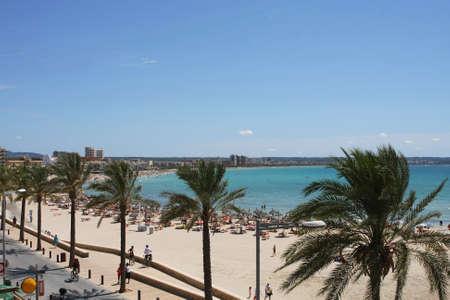 can pastilla beach at the spanish island Mallorca Stock Photo - 7140299