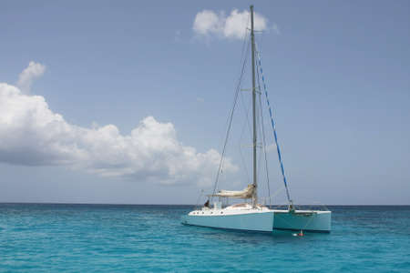 catamaran in saona beach - caribbean sea Stock Photo - 8756862