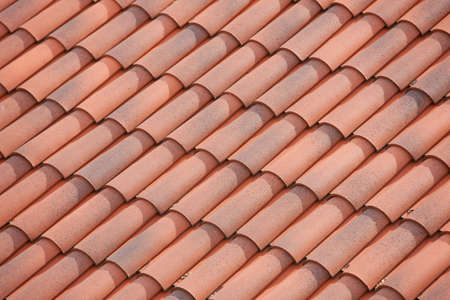 roof top: roof from a house from geres