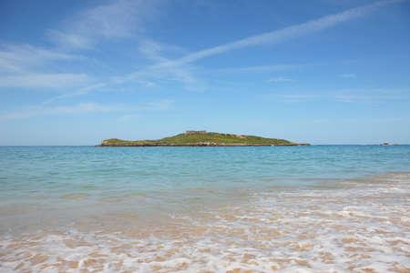 panorama of a beautiful beach