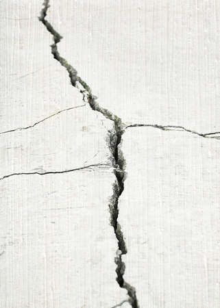 crevice: detail of a stone crack