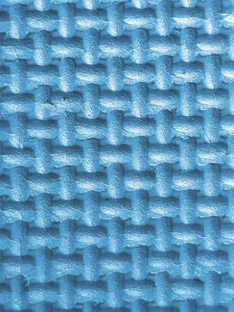 Plastic met 3d textuur in blauwe kleur