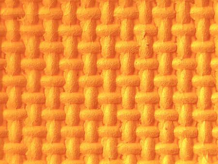 Plastic met 3d in oranje textuur
