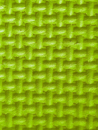 Plastic with green 3d texture
