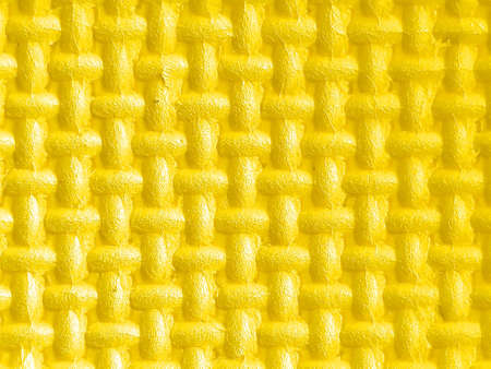 Plastic with yellow 3d texture