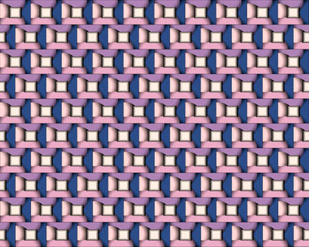 geometric pattern illustration for decoration in gradient purple and pink color, background and texture Foto de archivo