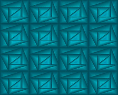 geometric pattern illustration for decoration in gradient blue color, background and texture