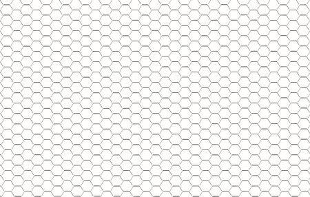 concave: Abstract background from the white concave hexagons.