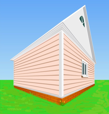 reflux: The house is shown in the image. Illustration