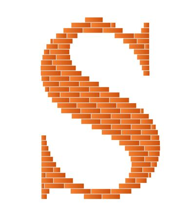 The letter S is shown in the picture.