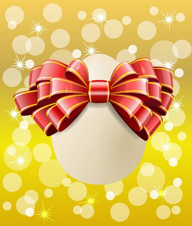 Easter egg on a colorful background is in the image. Stock Vector - 11451167