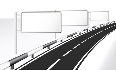 Highway and banner ads