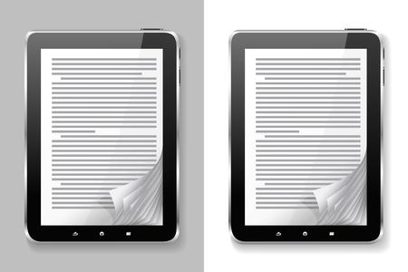 E-boeken zijn op de verschillende achtergronden.