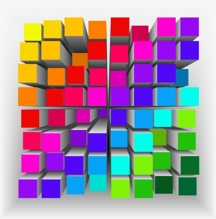 Geometric figure as an abstract background.