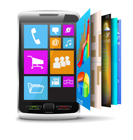 Phone with modern operating system