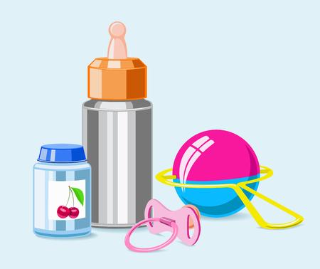 lactancia materna: Chupete, botella, sonajero, banco de alimentos para el ni�o