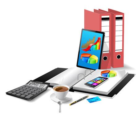 Office modern equipment