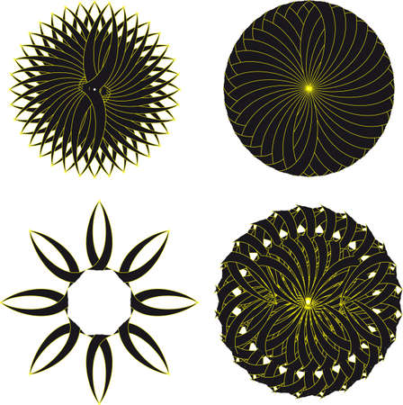 Yellow Circle Tribal