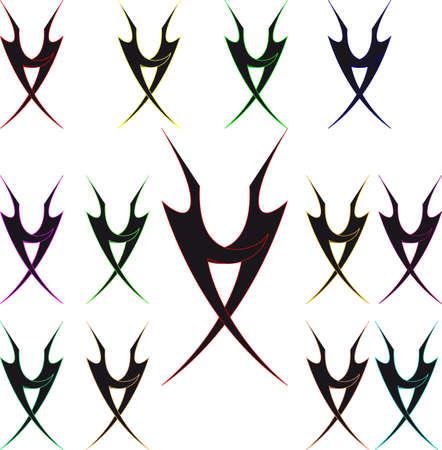 Tribal Logo  Illustration