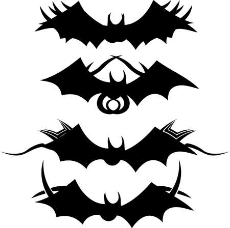 Tribal Bats  Vector