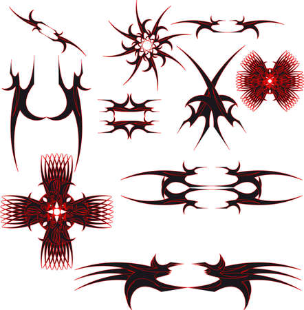 Logos Tribals Set