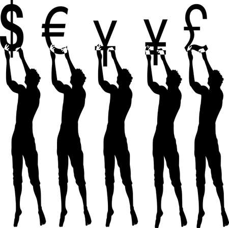 Currency Sillhouette