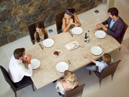 tavolo da pranzo: Famiglia a tavola