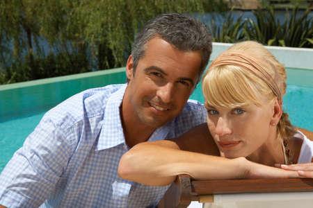 adult couple: Portrait of a couple