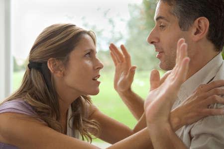 argument: Couple having an argument