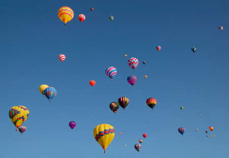 away from it all: Hot air balloon festival