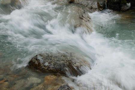 rapids: Detail of water rapids