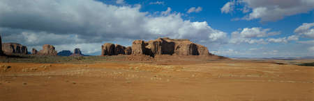 monument valley: Mesas and desert,Monument Valley,Utah,USA LANG_EVOIMAGES