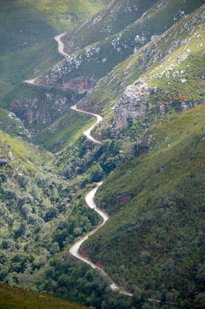 mountain pass: Historic mountain pass,Western Cape,South Africa