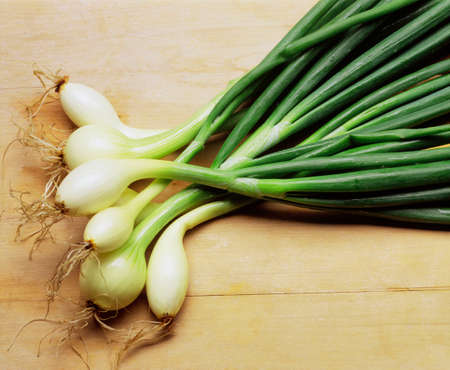 spring onions: Spring onions