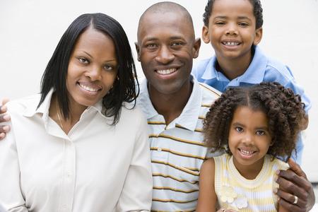 가족의 초상화 미소