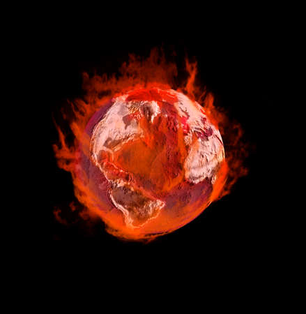 enhancement: Earth on fire