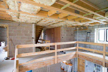 rafter: House under construction