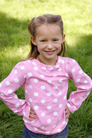 A portrait of a young girl Stock Photo