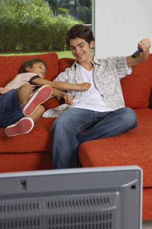 about age: Brothers fighting for the TV remote