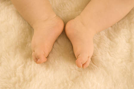lower section: A babys legs LANG_EVOIMAGES